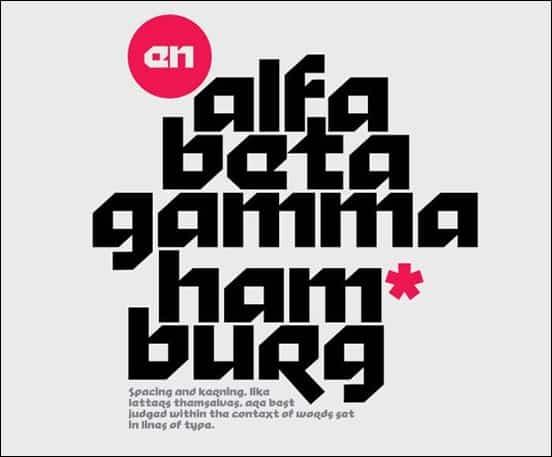 40 Amazingly Cool Free Fonts Showcase