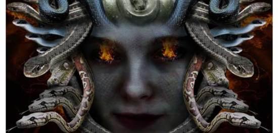 Creating Medusa With Photo Manipulation