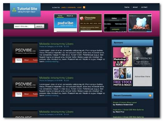 photoshop_blog_template_design