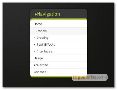 stylish-dark-navigation-menu