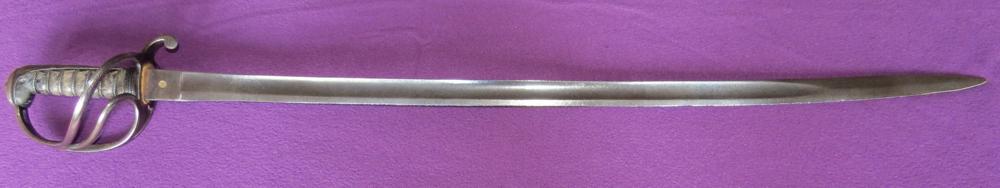 P-1821 British light cavalry officer's sabre (Item T-2013-001)