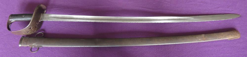 P-1885 British cavalry trooper's sabre (Item T-2013-002)