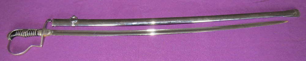 M-1860 German artillery officer's sabre (T-2013-005)