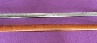 P-1897 British infantry officer's sabre (GRVI) (Item T-2016-008)