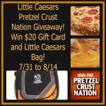#LittleCaesars Pretzel Crust Nation #Giveaway ENDED