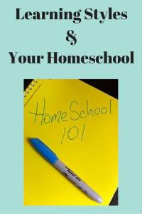 learning styles and your homeschool
