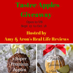 Blogger Opp – Tastee Apples Giveaway – Coming Soon!