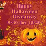 Happy #Halloween #Giveaway #HHG1015 @las930 Ends 10/29 ENDED