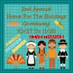 Home for the Holidays 2nd Annual Giveaway #HFH1015 @las930 Ends Nov. 26 Ended
