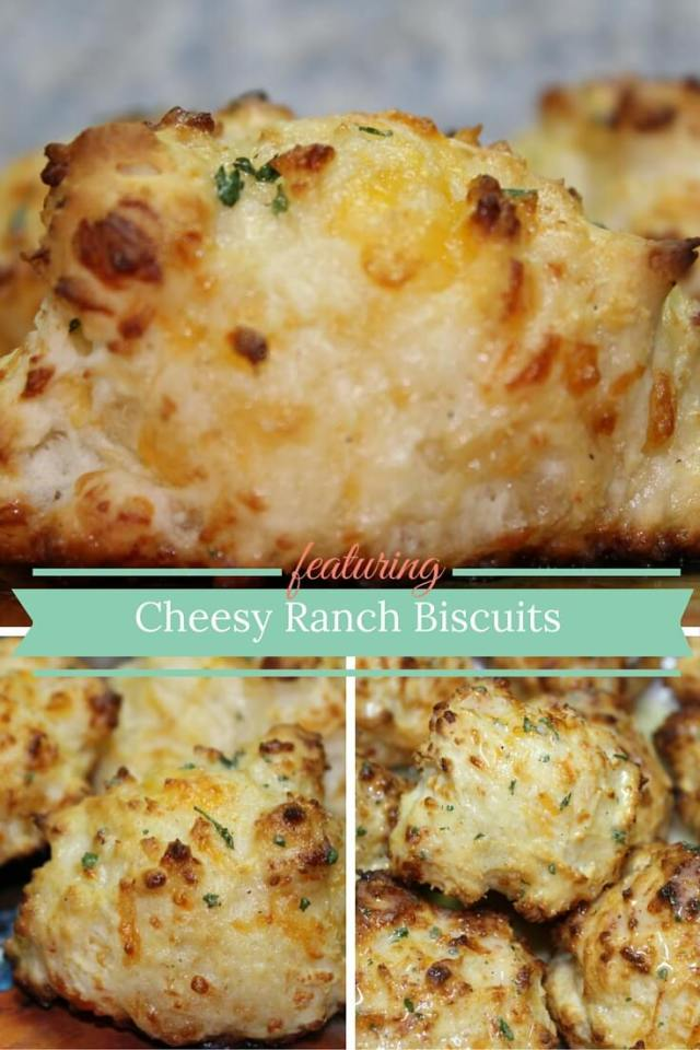 Cheesy Ranch Biscuits