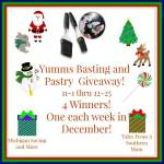 Yumms! Basting and Pastry Brush #Giveaway Ends Dec. 25 ENDED