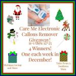 CareMe Electronic Callus Remover #Giveaway Ends Dec. 25 ENDED