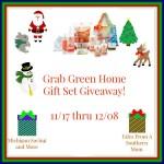 Grab Green Home Gift Set #Giveaway #GTG2015 Ends Dec. 8 Ended