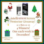 intelliARMOR Screen Protector #Giveaway #GTG2015