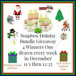 SOAPBOX ELEMENTS HOLIDAY BUNDLE #Giveaway Ends Dec. 25 ENDED