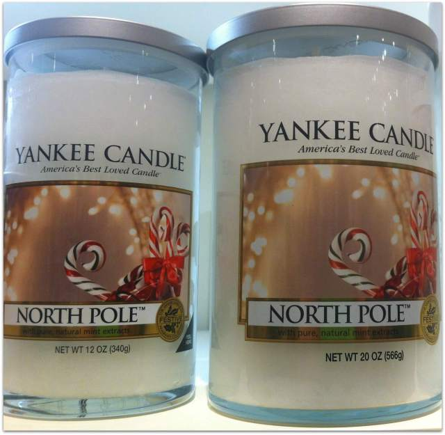 yankee candle north pole