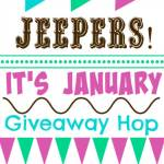 Jeepers!  It's January: Amazon Gift Card #Giveaway #HappyNewYear Ends Jan. 18 – ENDED