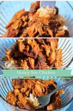 honey soy chicken pin