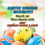 Easter Winning #Giveaway Ends March 27