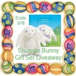 Snuggle Bunny Set #Giveaway Ends March 8 ENDED