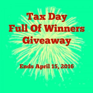 April 15th tax day giveaways