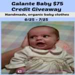 Galante Baby Giveaway Ends July 25 *ENDED*