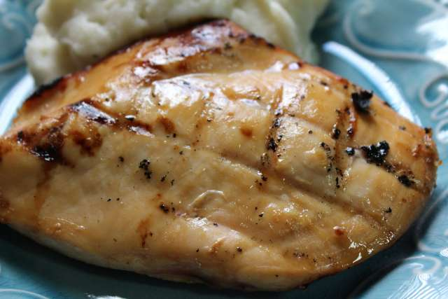 This is our favorite lemon lime marinade for grilled chicken breasts. It is sweet, juicy, delicious, and easy.