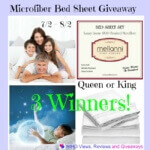 Microfiber #Mellanni Bed Sheet #Giveaway Ends August 2