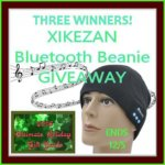 XIKEZAN Bluetooth Beanie #GIVEAWAY Ends Dec. 5 *ENDED*