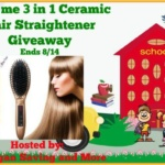 Care me 3 in 1 Ceramic Hair Straightener #Giveaway Ends Aug. 14 @las930  @caremeus