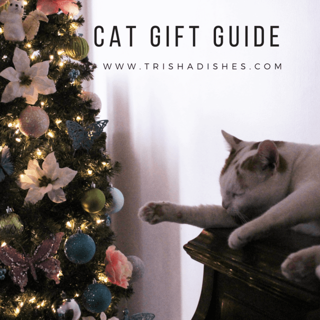 This Cat Gift Guide has everything you need to make your kitty's holidays bright!