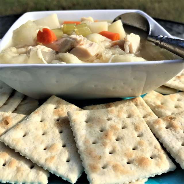 The Easiest Slow Cooker Chicken Noodle Soup Recipe