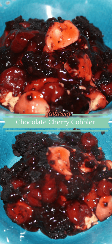 This Chocolate Cherry Cobbler is good enough for a special occasion but easy enough for an ordinary weeknight's dessert.