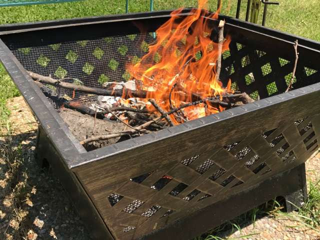 Landmann Barrone Fire Pit #Review