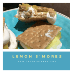Lemon S'mores #Recipe for Campfire or Microwave