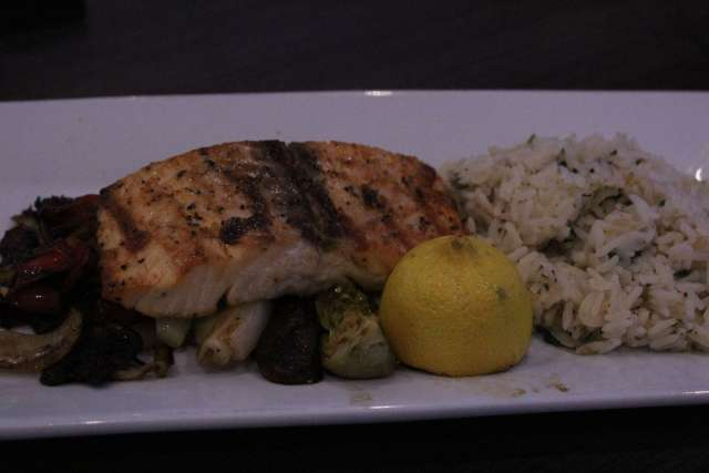 Grilled Salmon from Main Event Entertainment is exceptional!