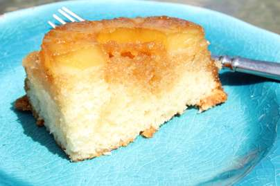 This pineapple upside down cake is as easy as it is delicious!