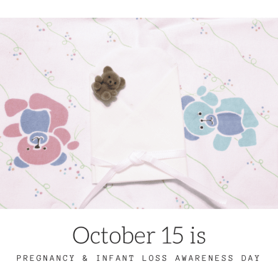 Wave of Light October 15, 2016 is Pregnancy & Infant Loss Awareness Day.  Show your support by participating in the international wave of light.
