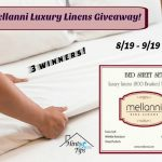 Mellanni Luxury Linens #Giveaway #Mellanni Ends Sept. 19 *ENDED*