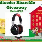 Mixcder ShareMe #Giveaway @las930 @Mixcder_Deutsch Ends Aug. 22 *ENDED*