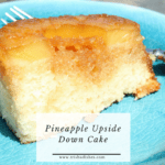 Pineapple Upside Down Cake #Recipe
