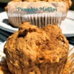 Pumpkin Muffins #Recipe With Just 4 Ingredients