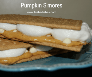 I have got to make some of these Pumpkin S'mores!
