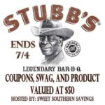 Summer's Here! Stubb's BBQ Prize Package #GIVEAWAY Ends July 4