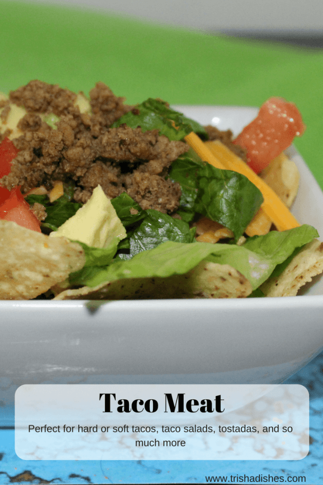 This Taco Meat recipe has all the flavor you're looking for.
