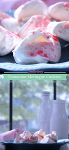 Cinnamon Meringue Cookies are a naturally low fat treat perfect for any occasion.