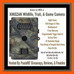 XIKEZAN Wildlife, Trail, & Game Camera #Giveaway #trailcamera Ends Oct. 15 *ENDED*