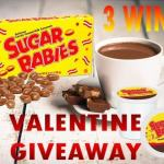 Sugar Babies Hot Cocoa Valentine #Giveaway Ends Feb. 6