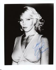 Carol Connors Autograph