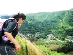 trish hiking kamanaiki traoil